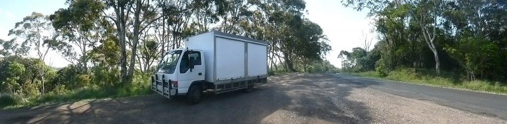 Bunya Mountains Ramesa nursery truck